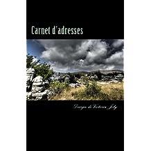 Carnet d'adresses: Adresse / Telephone / E-mail / Anniversaire / Site Web / Log in / Mot de passe / Collection Mysteres 6
