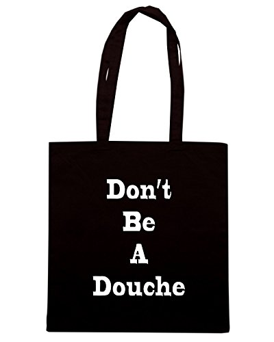 T-Shirtshock - Borsa Shopping BEER0202 Don t Be A Douche Nero