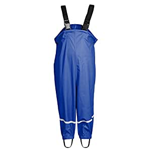 Smilebaby Playshoes Rain Dungarees Waterproof Unisex Blue