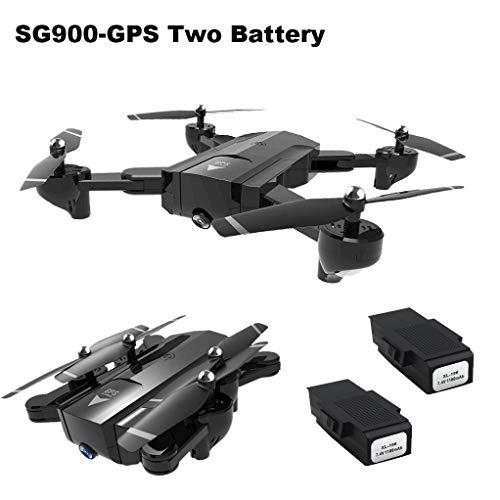 Drone con Telecamera Quadricottero Mini Quadcopter per Bambini Professionale Selfie Parrot Droni Chiave Ritorno Hover Fisso Punto Fisso FPV GPS WiFi FPV Macchina Fotografica HD Pieghevole Yesmile