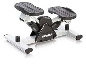 Kettler 07874-700 Side Stepper Gym Equipment Silver/Black
