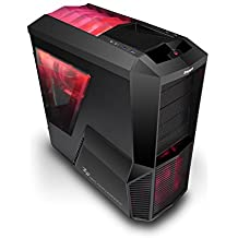 Zalman Z11 Plus HF1 Midi-Tower Negro - Caja de ordenador (Midi-Tower, PC, 1x 120 mm, 2x 80 mm, De plástico, Acero, 1x 120 mm)