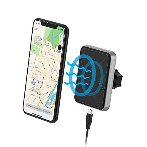 Xlayer magfix Wirless Charging Magnethalterung Erweiterungsset für Smartphone und Tablet, Wireless Charging Handy Erweiterungsset für alle magfix-Systeme, Schwarz