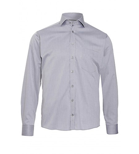Michaelax-Fashion-Trade -  Camicia classiche  - Basic - Classico  - Maniche lunghe  - Uomo Silber (700)