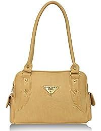 Fantosy Women's Handbag (Beige,Fnb-374)