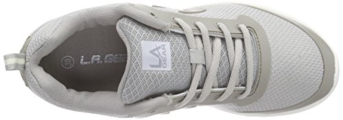 L.A. Gear D-Light Damen Sneakers Grau (Lt.Grey 10)