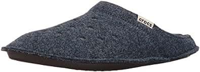 Crocs ClassicSlipper Ciabatte Unisex – Adulto, Blu (Nautical Navy/Oatmeal), 33-34 EU (M1/W2 UK)