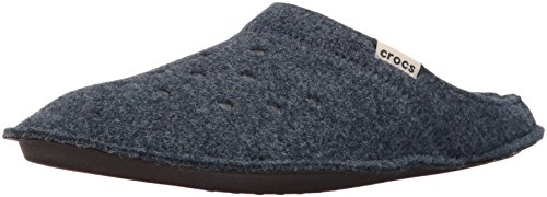Crocs classicslipper ciabatte unisex – adulto, blu (nautical navy/oatmeal), 41-42 eu (m7/w8 uk)