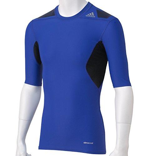 adidas Herren Kurzarm T-Shirt Techfit Powerweb, Night Flash S15/Black, XL, S19486 Preisvergleich