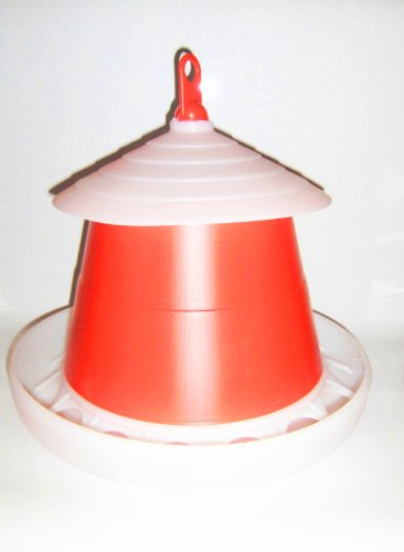 KLAUS - Futterautomat rot