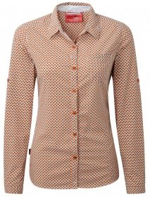Craghoppers NosiLife Olivie Langarm Bluse Women - Funktionsbluse
