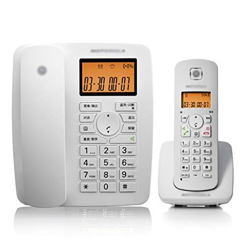 Yingying Kabelloses Telefon Telefon Business digital Schnurloses Telefon Mutter Maschine Platz Festnetz Festes Telefon Alter Mann Maschine (Farbe : Weiß) -