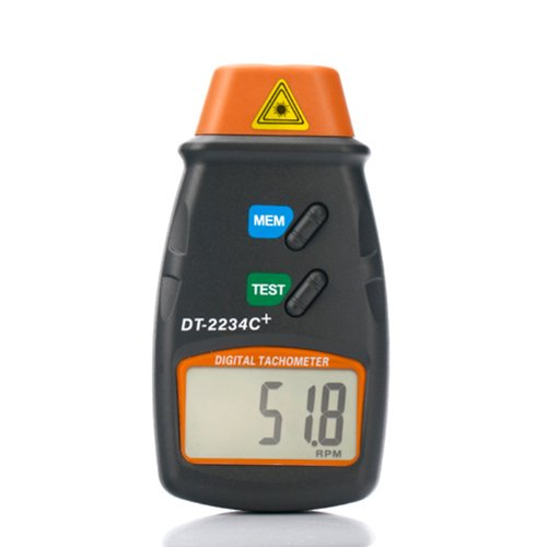 HDE-Professional-Digital-Infrared-Photo-Tachometer-RPM-Motor-Speed-Gauge-Tach