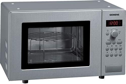Siemens HF15G541 iQ300 Mikrowelle / 17 L / 800 W / Edelstahl / Gewichtsautomatik / Auftauprogramme
