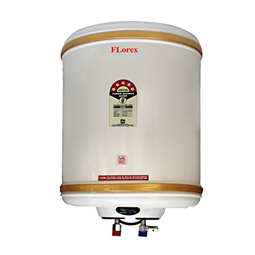 FLorex 15 Litre Storage Water Geyser With 5 Star Rating and ISI Marked (Copper Tank)
