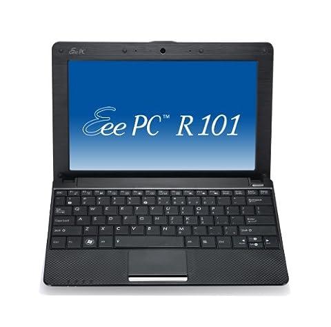 Asus Eee PC R101 25,7 cm (10,1 Zoll) Netbook (Intel Atom N450, 1.6GHz, 1GB RAM, 160GB HDD, Intel GMA 3150, Win XP Home) schwarz
