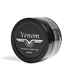 Venom Black High Gloss Leather Shoe Cream