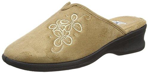 Padders - Sable, Pantofole Donna Beige (Beige (Camel))