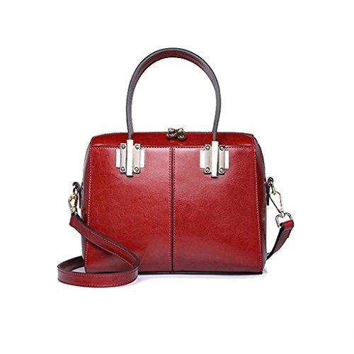 Sac à bandoulière Long Sac à bandoulière Messenger Bag Sac à main en cuir Vintage Style Street Work