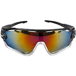 A-szcxtop Colorful winddicht Reit Sonnenbrille Radfahren Brille Fahrrad Brille Ourdoor Sport Unisex Sonnenbrille Eyewear