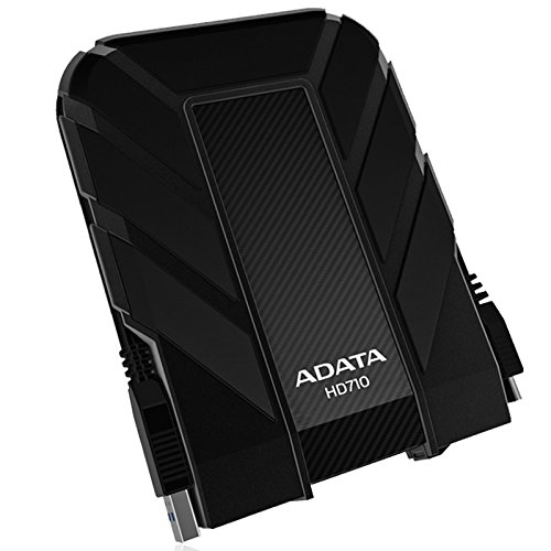 ADATA  HD710 2TB USB3.0 Durable External Hard Drive, IP68, Black (AHD710-2TU3-CBK)