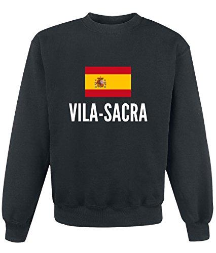 Felpa Vila sacra city Black