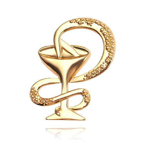 ZLLM Brosche Pin Abzeichen Mode Schüssel Weinglas Abzeichen Gold Silber Rose Gold Brosche Schmuck Symbol Pin Männer Und Damen Accessoires Geschenk -
