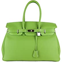 FG SAC A MAN EN CUIR DAMES MADE IN ITALY vert high quality 5556a26a551