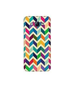 Kolor Edge Printed Back Cover For Samsung Galaxy A8 - Multicolor (4391-Ke11183SamA8Sub)