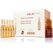 ASLAVITAL MINERALACTIV, Collagen Ampoules (Organic Goji Berry Extract/ 100% Natural Clay) (FOR EXTERNAL USE ONLY!) by ASLAVITAL MINERALACTIV
