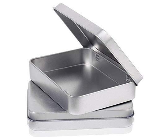 alldosen mit Scharnier oben Dose, Mini tragbare Box kleine Aufbewahrungs-Kit, Home Organizer ()