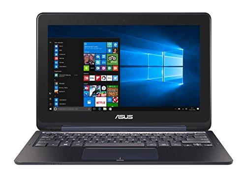 """ASUS TP200SA-FV0170TS - Portátil con pantalla táctil de 11.6"""" HD (Intel Celeron N3060 , RAM de 2 GB, EMMC de 32 GB, Intel HD Graphics, Windows 10 Original) metal azul - Teclado QWERTY Español"""