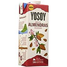 YOSOY Bebida de Almendras Sin Azúcares 1L [caja de 6 ...