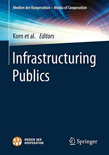 Infrastructuring Publics (Medien der Kooperation)