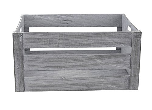 Decoline Holz Kiste mit Griffen 1 Stück - XL