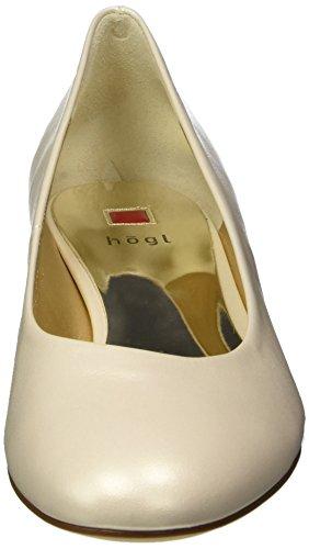 HÖGL 3-10 3003 0900, Scarpe con Tacco Donna Bianco (Champagn0900)