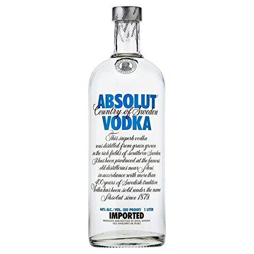Absolut Vodka (Packung mit 6)