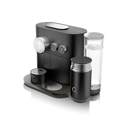 Krups Nespresso XN6018PR5 Kapselmaschine Expert Milk mit Aeroccino3 und Bluetoth Thermoblock...
