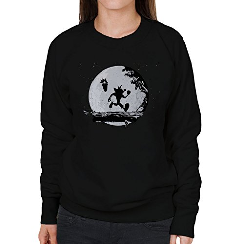 Crash Bandicoot Ooga Booga Matata Women's Sweatshirt Black