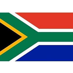 *** PROMOTION *** Drapeau Afrique du Sud - 150 x 90 cm (Uniquement chez le vendeur PLANETE SUPPORTER = 100% conforme à l'image)