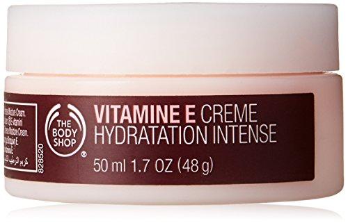 The Body Shop Vitamin E Intense Moisture Cream unisex, Vitamin E Intensive Feuchtigkeitscreme 50 ml, 1er Pack (1 x 50 ml)