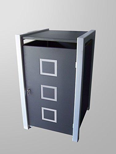 Mülltonnenbox Modell Malone Quad2 für eine 120 ltr. Tonne