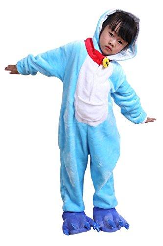 Auspicious beginning Doraemon Animal niños pijama de Cosplay de Onesie Sleepsuit Ropa de dormir ropa de casa Kigurumi pijama