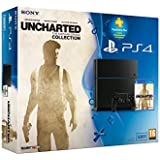 Console PS4 500Go + Uncharted : The Nathan Drake Collection + PS Plus 3 mois