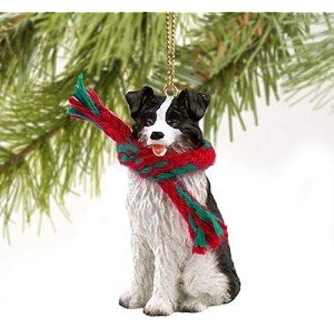 Border Collie miniatura ornamento del perro