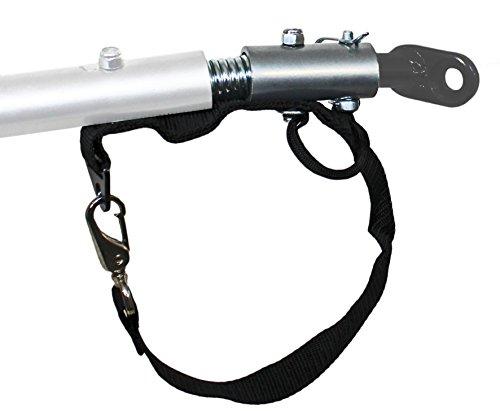 universal Kupplungsadapter mit Feder Deichselanschluß für Kinderanhänger - Deichsel
