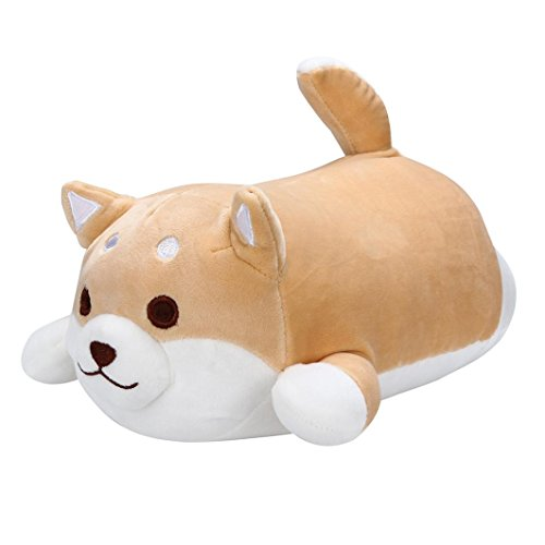 gaddrt Anime Shiba Inu Plüsch Sotf Kissen Puppe Cartoon Doggo Cute Shiba Stofftier (B) (Kränze Halloween Cute)