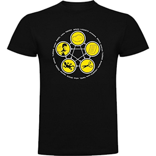 Camiseta de NIÑOS The Big Bang Theory Sheldon Cooper Penny Bazinga 11-12  Años 5677c56b4f8