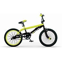 MBM BMX INSTINCT 20'' FREESTYLE FREE STYLE BICYCLE BIKE 1S BICICLETA AMARILLO
