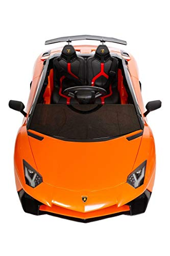 MINICARS Elektroauto Kind Lamborghini Aventador J 131 cm Orange